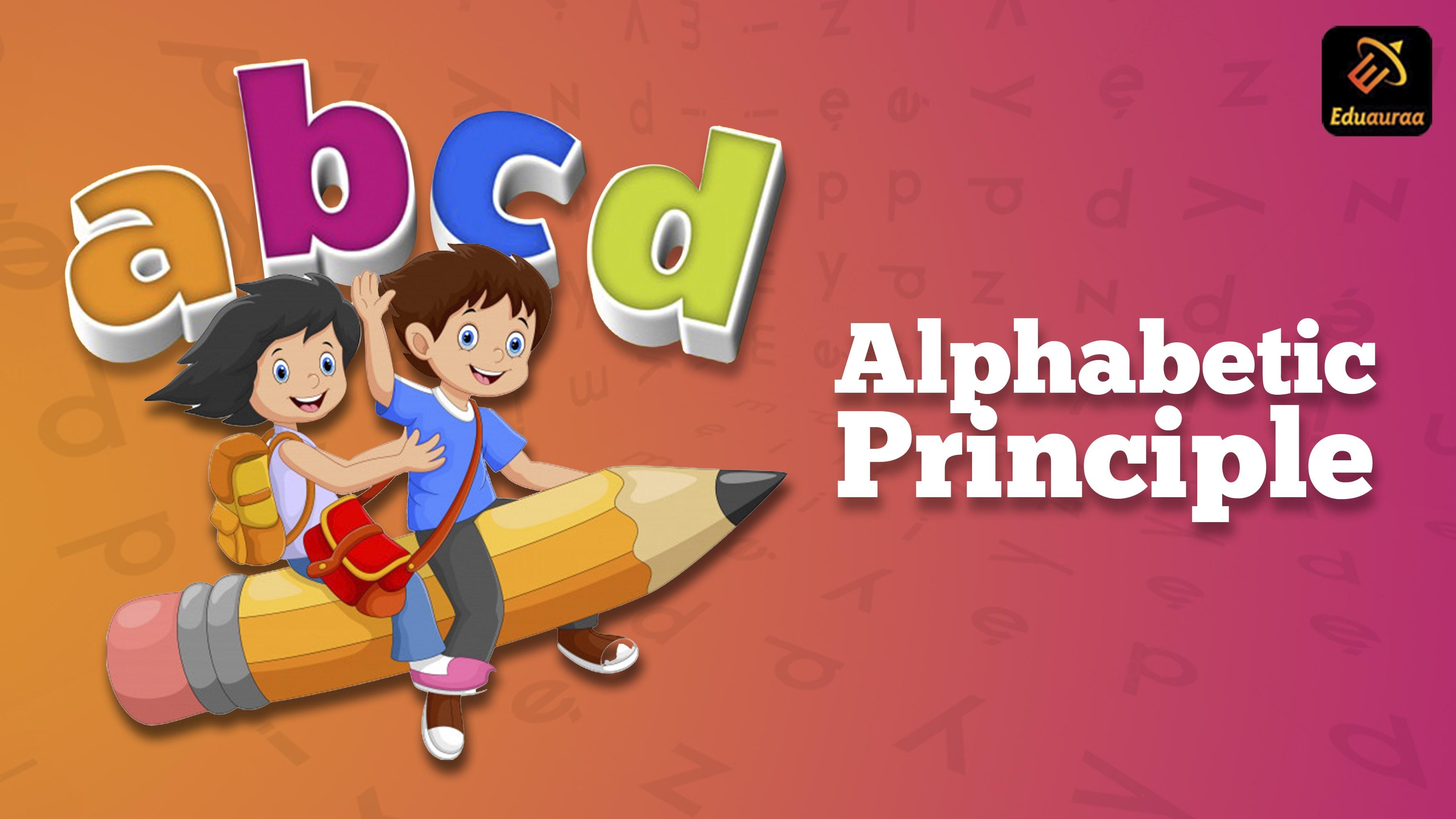 alphabetic principle